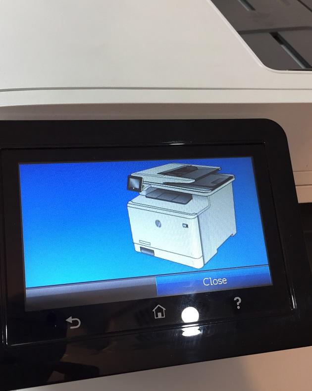 اچ پی 477 صفحه نمایش lcd با اندازه 4 اینچ