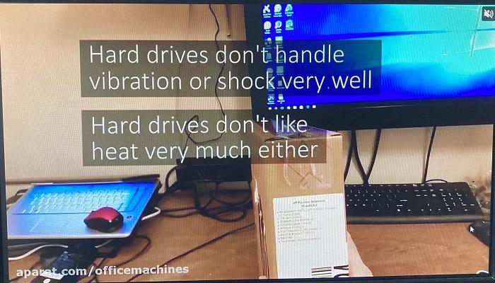 ارتقا و تعویض قطعات لپ تاپ های اچ پی