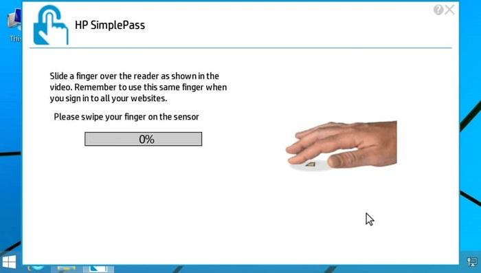 در نمایندگی HP - حذف اثر انگشت | سیمپل پس