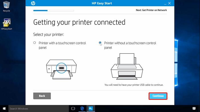 نصب HP برای ویندوز 7