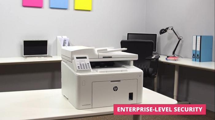 کیفیت چاپ در لیزرجت سه کاره HP 227SDN