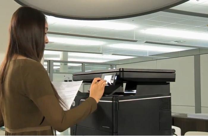 کیفیت پرینتر لیزری مشکی HP A3