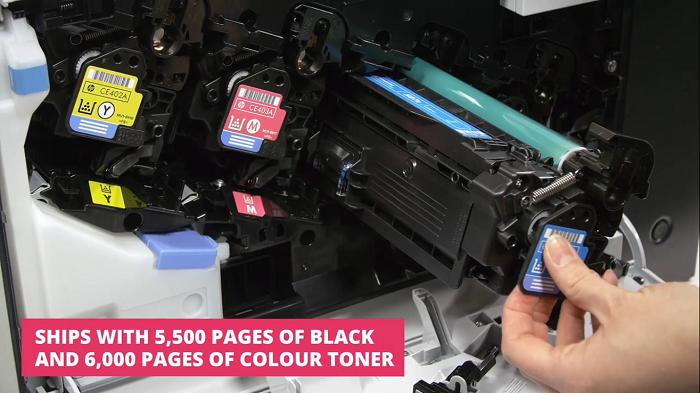 کارتریج لیزری رنگی HP 507A